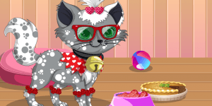 Kitty the cat dressup