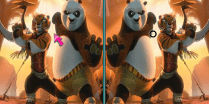 Hra - Kung Fu Panda 2 - Spot the Difference
