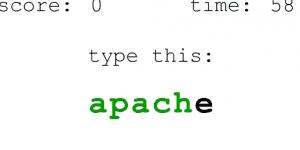Hra - Fast Typer