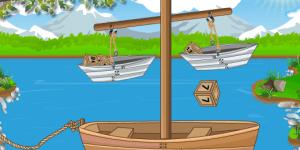 Hra - Boat Balancing