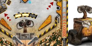Hra - Wall-E Pinball
