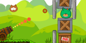 Hra - Angry Bird Bomber