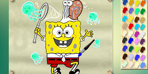 Hra - Spongebob With Jelly Fish