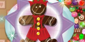 Santa Gingerbread Cookie