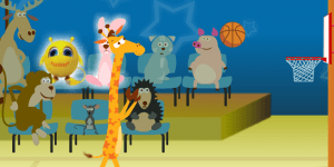 Hra - Giraffe Basketball
