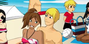 Kisses At The Beach