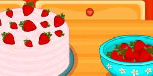 Hra - Hello Kitty Strawberry Cheese Cake
