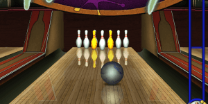 Gutterball Golden Pin Bowling