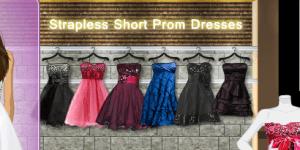 Strapless Short Prom Dresses