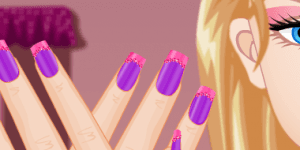 Barbie Nail Design