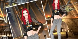 Awesome Gamer Girl Dress Up