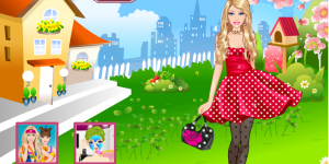 Hra - Barbie Dotted Dresses