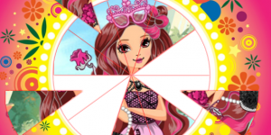 Ever After High Round Puzzle