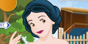 Hra - Snow White Hair Salon Makeover