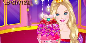 Hra - Barbie Glittery Cupcake