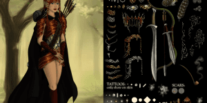 Lord Of The Rings Elven Maiden Maker