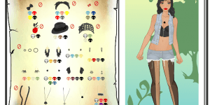 Rebel Girl Dress Up and Design