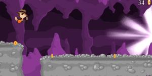 Cave Boy Running