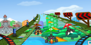 Hra - Mario Glider