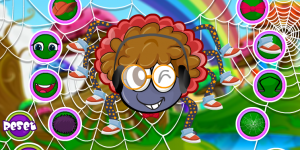 Hra - Cute Spider Dress Up
