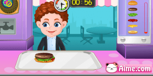 Hra - Baby Hamburger Shop