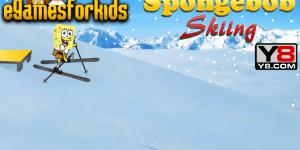 Hra - Spongebob Skiing