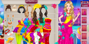 Barbie New Year's Outfits