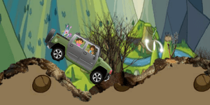 Hra - Dora and Friends Offroad