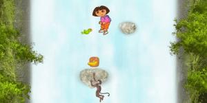Hra - Dora Waterfall Jump