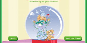 Holly Hobbie Snowglobe