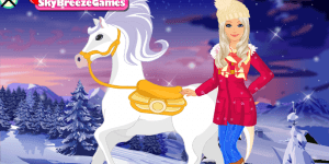 Hra - Barbie's Winter Pony