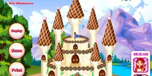 Hra - Princess Castle Cake 3