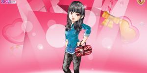 Lovely Valentines Girl