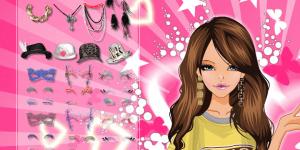 Hra - Beautiful Pink Girl Make up