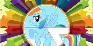Hra - My Little Pony: Round Puzzle