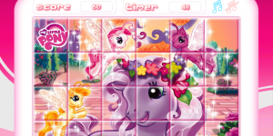 Hra - My Little Pony: Rotate Puzzle
