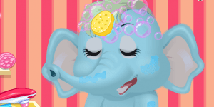 Hra - Baby Elephant Salon