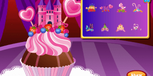 Hra - Ever After High Cake Decor