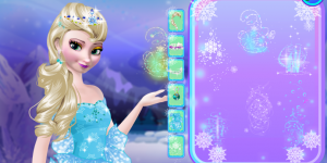 Hra - Frozen Makeup