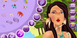 Princess Pocahontas Nobel Makeover