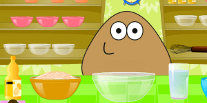 Hra - Pou Cooking Pie