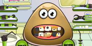 Hra - Pou Tooth Problems