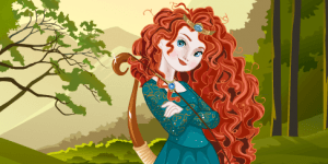 Brave Princess Merida