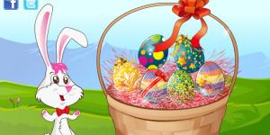 Easter Egg Basket Design