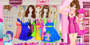 Hra - Barbie Sleepwear Princess Dress Up