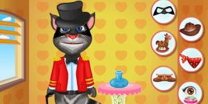 Hra - Talking Tom Dress Up