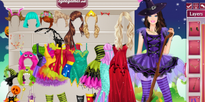 Hra - Halloween Barbie