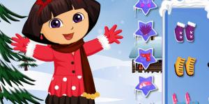 Dora Winter Fashion Dressup