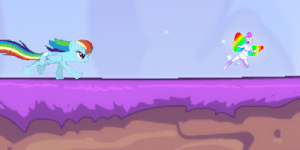 Hra - Rainbow Dash Attack