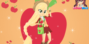 My Little Pony Equestria Girls Miss Honesty Applejack